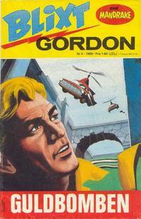 Cover Thumbnail for Blixt Gordon (Semic, 1967 series) #4/1969