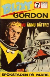 Cover Thumbnail for Blixt Gordon (Semic, 1967 series) #7/1969
