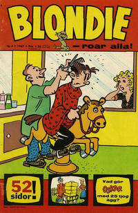 Cover Thumbnail for Blondie (Semic, 1963 series) #4/1967