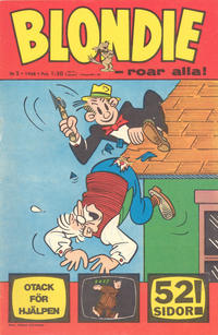 Cover Thumbnail for Blondie (Semic, 1963 series) #5/1968