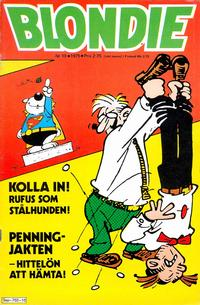 Cover Thumbnail for Blondie (Semic, 1963 series) #10/1975