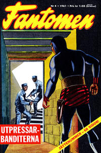 Cover Thumbnail for Fantomen (Semic, 1963 series) #4/1961