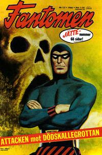Cover Thumbnail for Fantomen (Semic, 1963 series) #13/1966