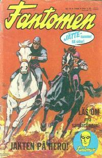 Cover for Fantomen (Semic, 1963 series) #14/1966
