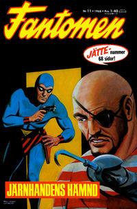 Cover Thumbnail for Fantomen (Semic, 1963 series) #11/1968