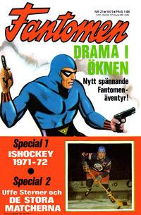 Cover Thumbnail for Fantomen (Semic, 1963 series) #21/1971
