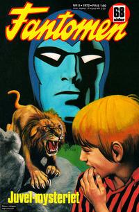 Cover Thumbnail for Fantomen (Semic, 1963 series) #5/1972
