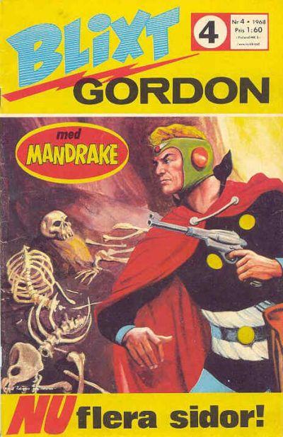 Cover for Blixt Gordon (Semic, 1967 series) #4/1968