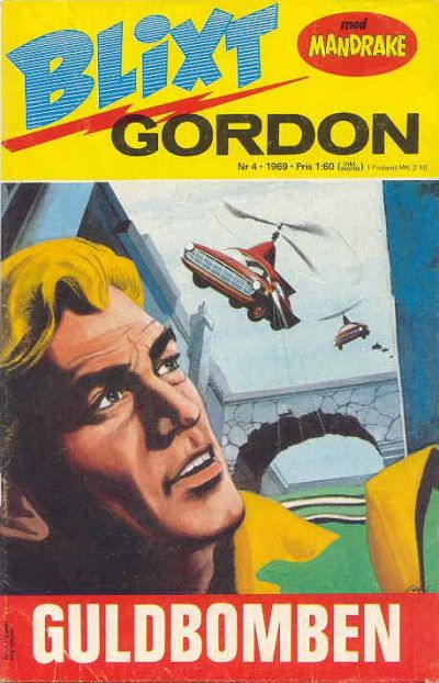 Cover for Blixt Gordon (Semic, 1967 series) #4/1969