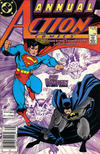 Cover Thumbnail for Action Comics Annual (1987 series) #1 [Newsstand]