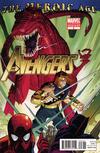 Cover for Avengers (Marvel, 2010 series) #3 [2nd Printing Variant]