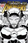 Cover for Avengers (Marvel, 2010 series) #4 [Romita Jr.'s Inked Variant Cover]