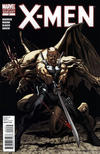 Cover for X-Men (Marvel, 2010 series) #2 [Second Printing]