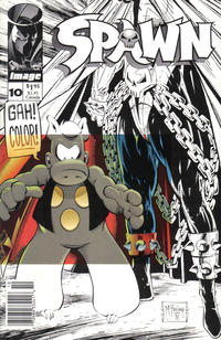 Cover Thumbnail for Spawn (Image, 1992 series) #10 [Newsstand]