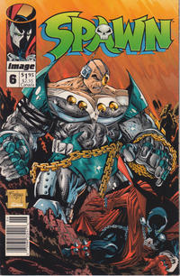 Cover Thumbnail for Spawn (Image, 1992 series) #6 [Newsstand]