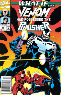 Cover Thumbnail for What If...? (Marvel, 1989 series) #44 [Newsstand]