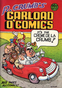 Cover Thumbnail for R. Crumb's Carload o' Comics (Bélier Press, 1976 series)