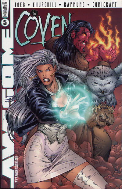 Cover for The Coven (Awesome, 1997 series) #5 [Dynamic Forces Exclusive Alternate Cover]