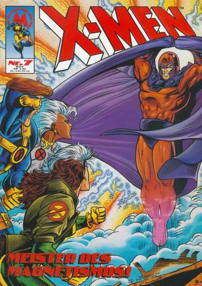 Cover for X-Men (Marvel UK, 1994 series) #7