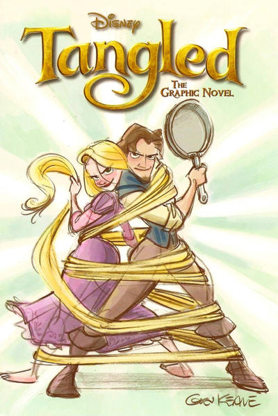 Cover for Tangled: The Graphic Novel (Disney, 2010 series)