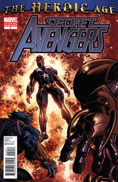 Cover for Secret Avengers (Marvel, 2010 series) #4 [Women of Marvel Variant Cover]