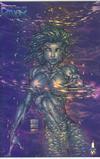Cover for Fathom (Image, 1998 series) #9 [Holochrome Variant]