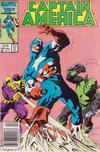Cover Thumbnail for Captain America (1968 series) #324 [Newsstand Edition]