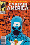 Cover Thumbnail for Captain America (1968 series) #333 [Newsstand Edition]