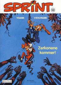 Cover Thumbnail for Sprint (Hjemmet / Egmont, 1998 series) #58 - Zerkonene kommer!