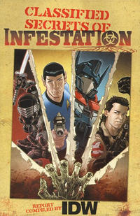 Cover Thumbnail for Classified Secrets of Infestation (IDW, 2010 series)
