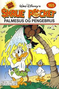 Cover Thumbnail for Skrue Pocket (Hjemmet / Egmont, 1997 series) #165 - Palmesus og pengebrus