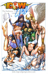 """Cover Thumbnail for The Darkness (Image, 1996 series) #20 [Jay Company """"Babe"""" Variant]"""