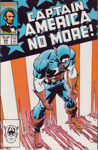 Cover Thumbnail for Captain America (Marvel, 1968 series) #332 [Direct Edition]