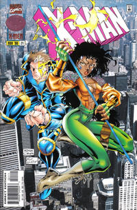 Cover for X-Man (Marvel, 1995 series) #21 [Direct Edition]