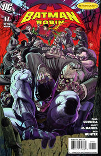 Cover Thumbnail for Batman and Robin (DC, 2009 series) #17