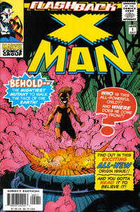 Cover Thumbnail for X-Man (Marvel, 1995 series) #-1 [Direct Edition]