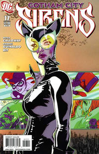 Cover Thumbnail for Gotham City Sirens (DC, 2009 series) #17