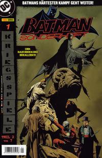 Cover Thumbnail for Batman Sonderheft (Panini Deutschland, 2005 series) #1