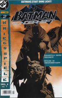 Cover Thumbnail for Batman Sonderheft (Panini Deutschland, 2005 series) #2