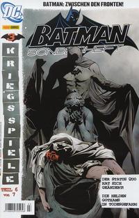 Cover Thumbnail for Batman Sonderheft (Panini Deutschland, 2005 series) #3