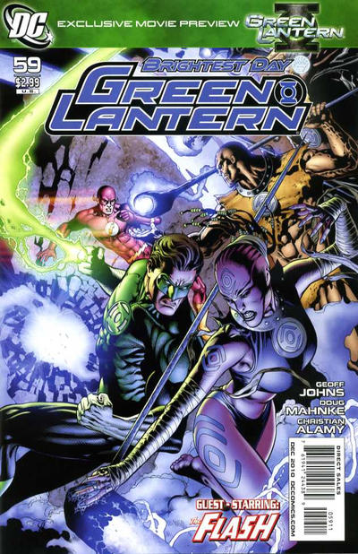 Cover for Green Lantern (DC, 2005 series) #59 [Standard Cover]