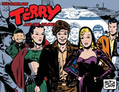 Cover for The Complete Terry and the Pirates (IDW, 2007 series) #6 - 1945-1946
