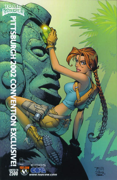 Cover for Tomb Raider: The Series (Image, 1999 series) #21 [Pittsburgh Convention Variant]