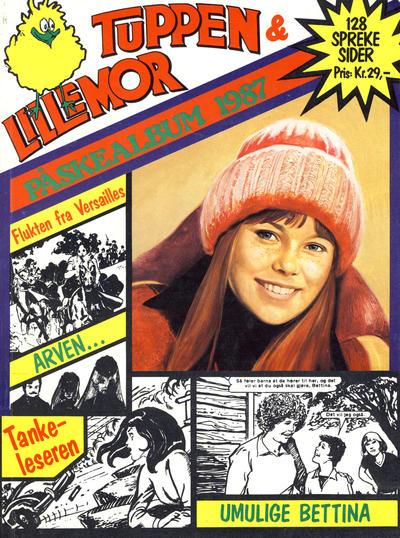Cover for Tuppen & Lillemor (Serieforlaget / Se-Bladene / Stabenfeldt, 1985 series) #Påskealbum 1987