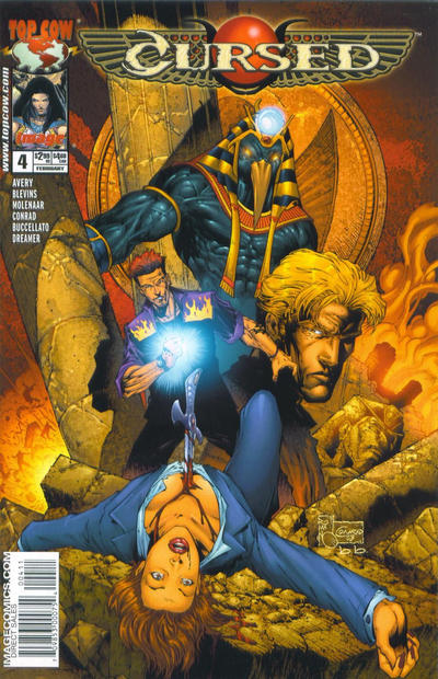 Cover for Cursed (Image, 2003 series) #4 [Cover 1]