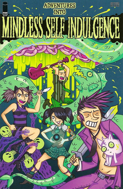 Cover for Adventures into Mindless Self Indulgence (Image, 2010 series)