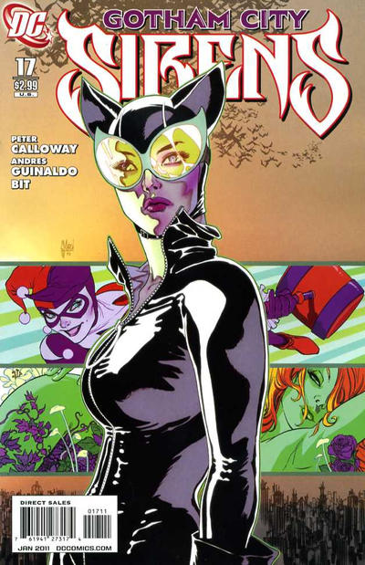 Cover for Gotham City Sirens (DC, 2009 series) #17