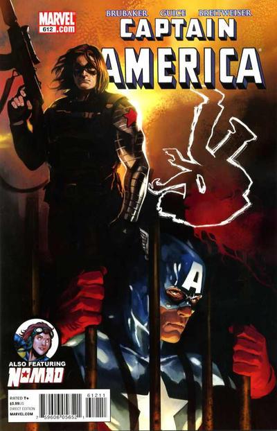 Cover for Captain America (Marvel, 2005 series) #612 [Tron Variant]