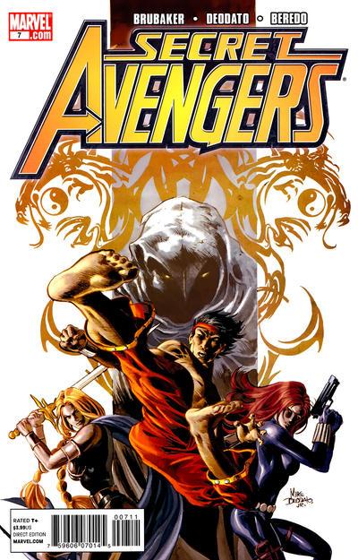Cover for Secret Avengers (Marvel, 2010 series) #7 [Tron Variant]