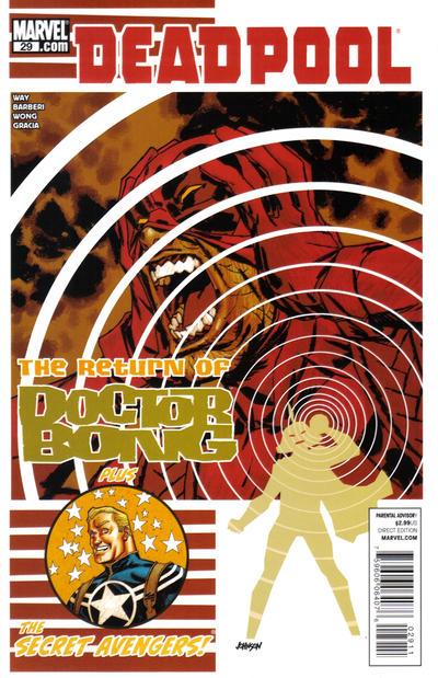 Cover for Deadpool (Marvel, 2008 series) #29